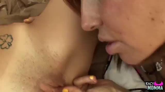 Step mom pussy licks hot step daughter