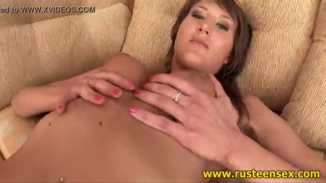 Teen brunette rough sex